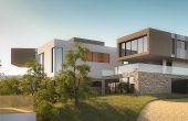 Modern Villas in Beausoleil with Monaco view